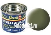 32168 Revell эмалевая Краска темно-зеленая матовая