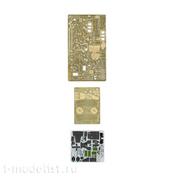 072010 Microdesign 1/72 Set of photo-etched parts for Mi-28 (Zvezda)