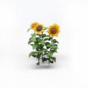 S-162 MiniWarPaint Photo Etching Sunflowers, size M