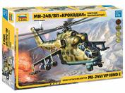 7293 Звезда 1/72 Советский ударный вертолет Ми-24В/ВП