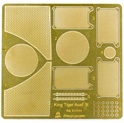035244 Microdesign Mesh for 1/35 king Tiger from the Zvezda