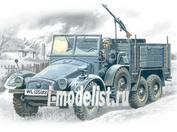 72451 ICM 1/72 Krupp L2H143 Kfz.70- германский легкий грузовой автомобиль