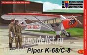 KPM0041 Kovozavody Prostejov 1/72 Piper K-68/C-8
