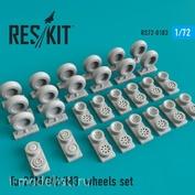 RS72-0183 RESKIT 1/72 Tu-22М/M2/M3 смоляные колеса