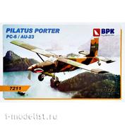 BPK7211 BPK 1/72 Самолет Pilatus Porter PC-6/AU-23