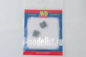 AVD143011002 AVD Models 1/43 Армейский ящик тип-2, (640x590x180 мм), 2 шт