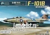 KH80114 KittyHawk 1/48 Самолет F-101b Voodoo