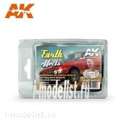 AK8089 AK Interactive Набор EARTH EFFECTS (RALLY SET) (набор для создания эффекта земли)