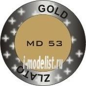 MD53 CMK 1/35 Gold. Модельный пигмент 30 мл