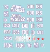 72021 ColibriDecals 1/72 Декаль для SU-152