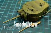 C35003 MM 1/35 Metal barrel 45mm barrel tank gun for BT-5, BT-7, T-26, T-35, T-50, BA-10, BA-6