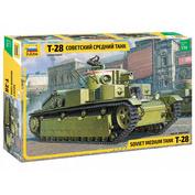 3694 Звезда 1/35 Советский средний танк Т-28