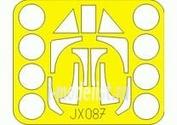JX087 Eduard 1/32 Маска для Ta 152H