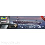 05173 Revell 1/400 Nuclear-powered attack aircraft carrier, US Navy USS Enterprise CVN-65