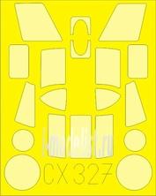 CX327 Eduard 1/72 Маска для HAS.3