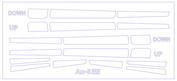 14806 KV Models 1/144 Набор окрасочных масок для Антоннов-8