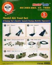 09951 Я-моделист Клей жидкий плюс подарок Trumpeter Набор инструментов Clamp for elastic band, Clamp, Bottle Opener