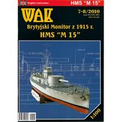 W7-8/2010 WAK 1/200 HMS M15