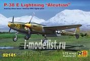 92141 RS Models 1/72 P-38 E Aleutian