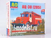 1375AVD AVD Models 1/43 Fire tanker AC-30