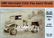 35101 Mirror-models 1/35 CMP C15A Chevrolet Van Lorry Truck