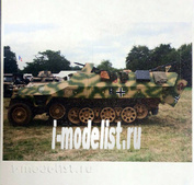 100002 Zebrano 1/100 Немецкий БТР Hanomag Sdkfz 251/1 ausf.D