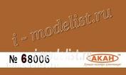 68006 Акан Охра оранжевая стандартная полуглянцевая