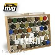 AMIG8014 Ammo Mig TAMIYA/MR COLOR AMMO STORAGE SYSTEM (storage rack of paints TAMIYA/MR COLOR)