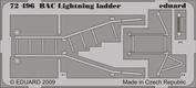 72496 Eduard 1/72 Фототравление для Bac Lightning ladder