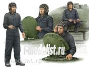 00435 Я-Моделист Клей жидкий плюс подарок Trumpeter 1/35 Советский танковый экипаж