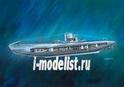 05060 Revell 1/125 German Submarine U-47 with Interior