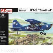 AZ7589 AZ Model 1/72 U.S. Observer plane Stinson OY-2