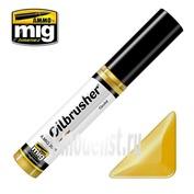 AMIG3539 Ammo Mig GOLD (Масляная краска с тонкой кистью аппликатором)