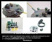 35111 Miniarm 1/35 БМП-2 корректирующий набор, комбашенка, прицел наводчика, осветители ОУ-3,ОУ-5 маска пушки, точенный ствол, фототравления.