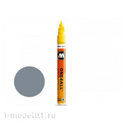 127218 molotow marker one4all 127hs #203 grey 2mm