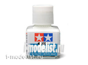 87096 Tamiya Жидкая грунтовка, белая (Liquid Primer White) 40 мл.