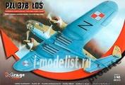 481302 Mirage Hobby 1/48 PZL-37B Los bomber