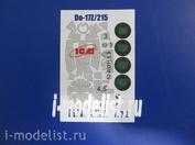 M72 008 1/72 Painting mask on Do-17Z/215(ICM)