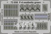 73050 Eduard 1/72 Фототравление для F-4 зелёные ремни СТАЛЬ