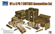RE30009 Riich 1/35 M1 & 6 PR 7 CWT(BR) Ammunition Set