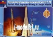 44001 Макет 1/144 Межконтинентальная балистическая ракета Р-7А