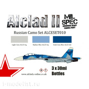 ALCESET-010 Alclad II paint Set