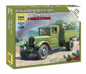 6124 Zvezda 1/100 Soviet car Z&S-5 (For the game