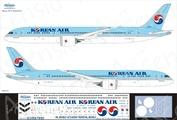 789-013 Ascensio 1/144 Декаль на самолёт Боеiнг 787-9 (Korean Air)