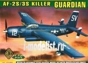 72305 ACE 1/72 Самолет AF-2S/3S Killer GUARDIAN
