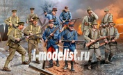 02451 Revell 1/35 WWI INFANTRY German/British/French (1914)