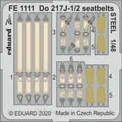 FE1111 Eduard 1/48 Фототравление для Do 217J-1/2 стальные ремни