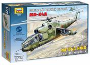 7273 Звезда 1/72 Советский ударный вертолет Ми-24А