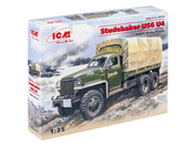 35514 ICM 1/35 Армейский грузовик 2МВ Studebaker US6 U4
