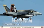 07348 Hasegawa 1/48 F/A-18E VFA-27 ROYAL MACES 2013